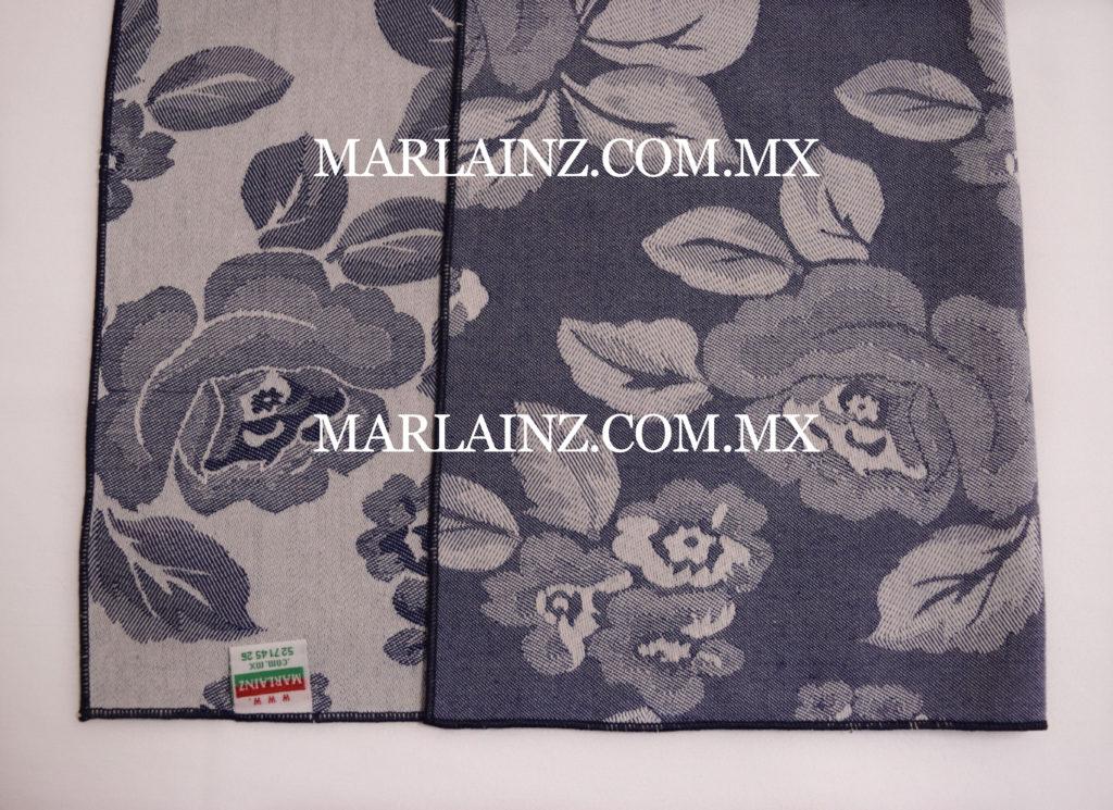 Servilleta Vintage Mil Rosas Azul Marino