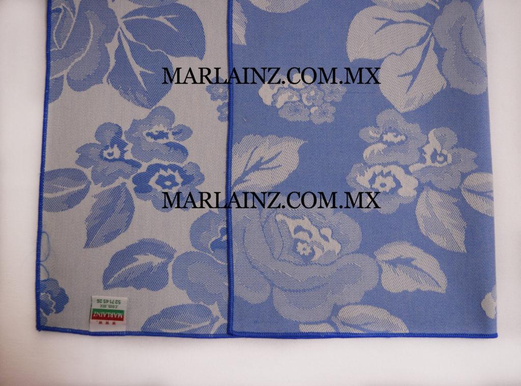 Servilleta Vintage Mil Rosas Azul Rey