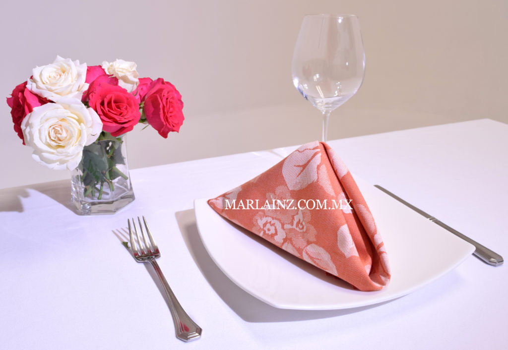 Servilleta Vintage Mil Rosas Naranja (2)