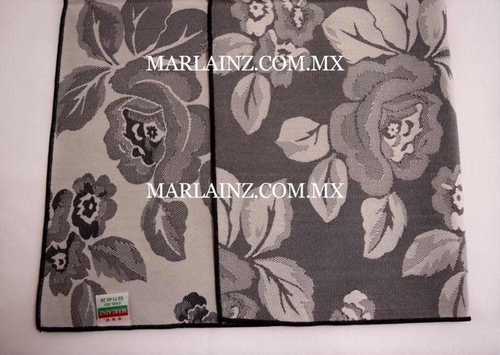 Servilleta Vintage Mil Rosas Negro