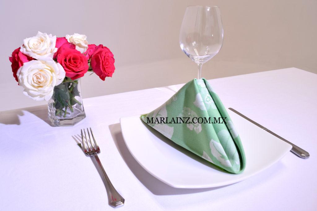 Servilleta Vintage Mil Rosas Verde (2)