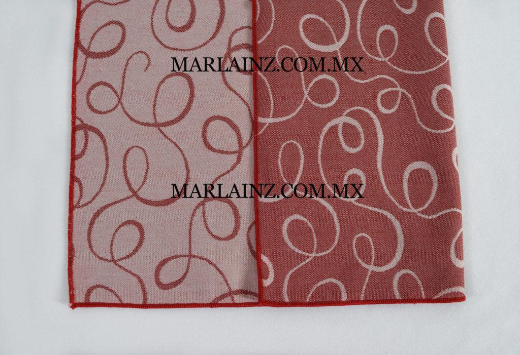 Servilleta Vintage Serpentinas Rojo