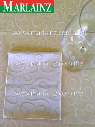 Servilleta Vintage Serpentinas Crema (2)