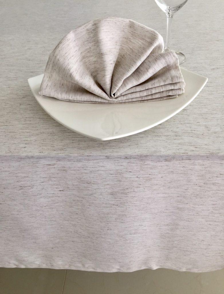 Servilleta y Cubre  Vintage Plus Lino color Natural (2)